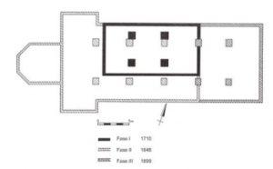 Depapegaai in drie bouwfasen